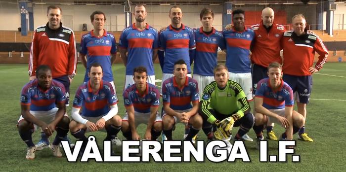 The Professional Footballers: Valerenga I.F.
