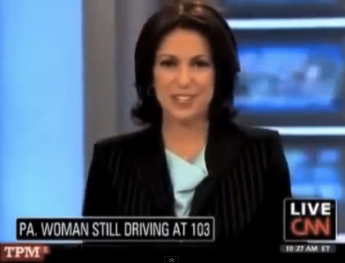 CNN 103 years Old Driving News Big Fail